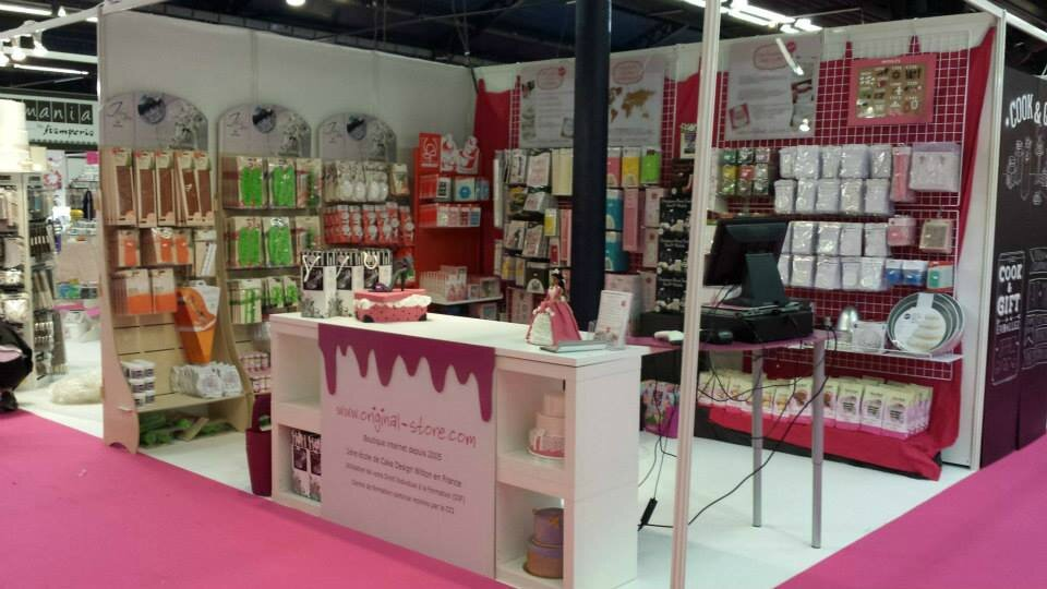 Le salon sugar paris les cr ations d 39 arquencielle for Stand salon original