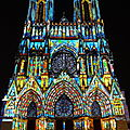 En France. Cathédrale de Reims