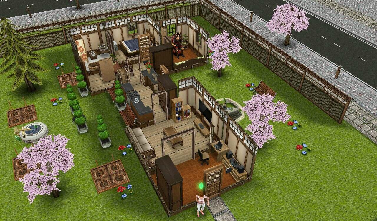 Une maison am liorer une nouvelle maison - Les sims freeplay maison ...