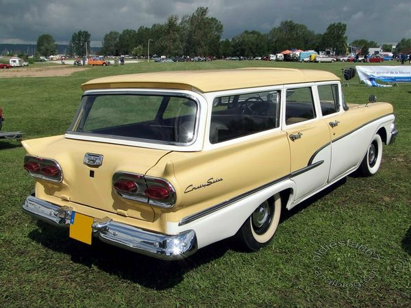 ford country sedan wagon 1958 4