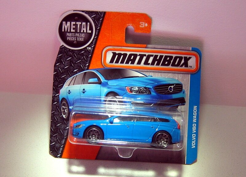Volvo V60 Wagon (Matchbox)