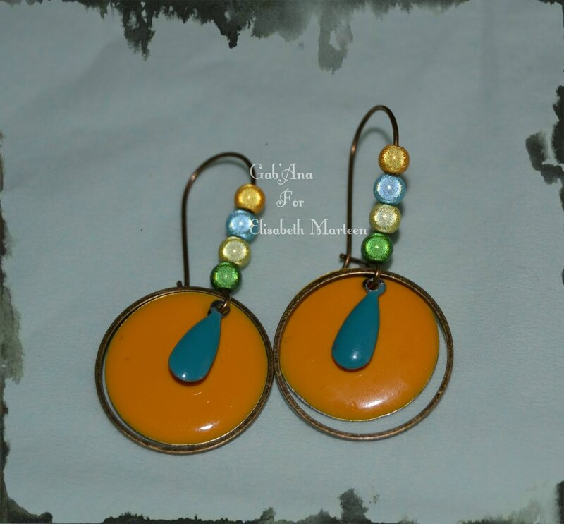 Boucles email jaune