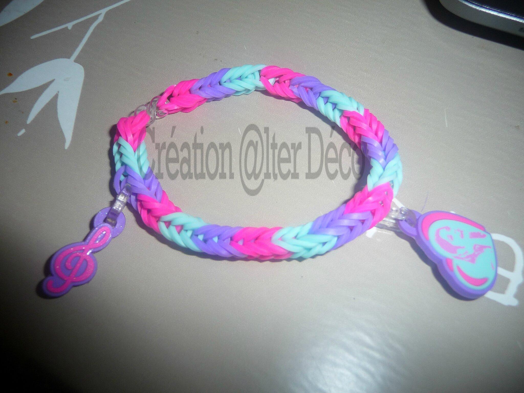 Bracelet Elastiques Violetta