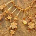 Un collier dans sa couleur automnale, vue 2