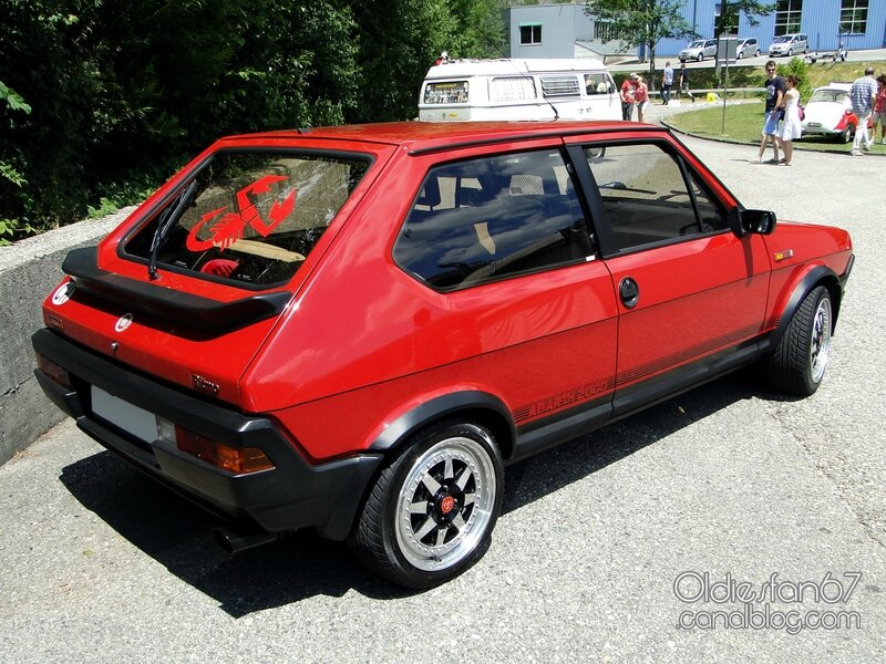 fiat ritmo abarth 125 tc 1981 1982 oldiesfan67 mon blog auto. Black Bedroom Furniture Sets. Home Design Ideas