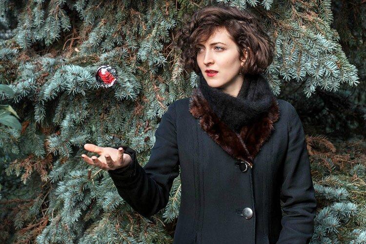 Eve Risser - photo Sylvain Gripoix