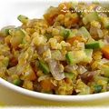 Dhal de courgettes, carottes et lentilles corail