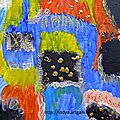 Peintures abstraites - abstract paintings to sale on http://lodya.artgallery.free.fr