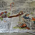 TOILE DE JOUY COLORIAGE