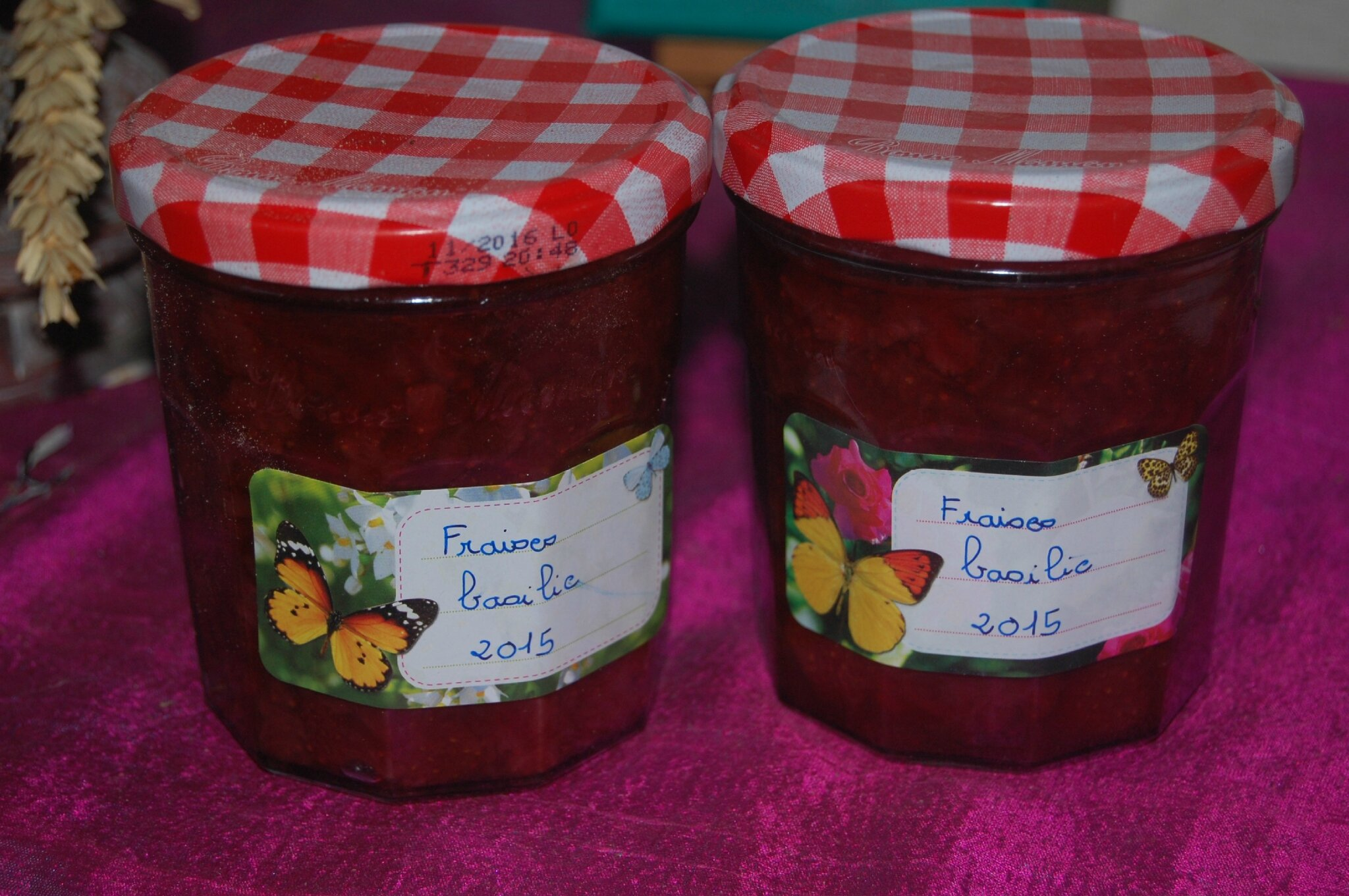 Prendre le temps de réaliser sa confiture préférée... la confiture de fraises !