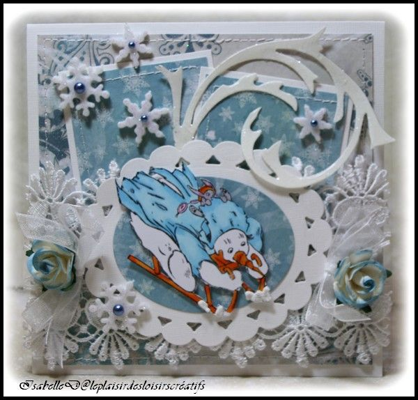 "Carte In2stamps & Challenge "" Wild Orchid Craft"