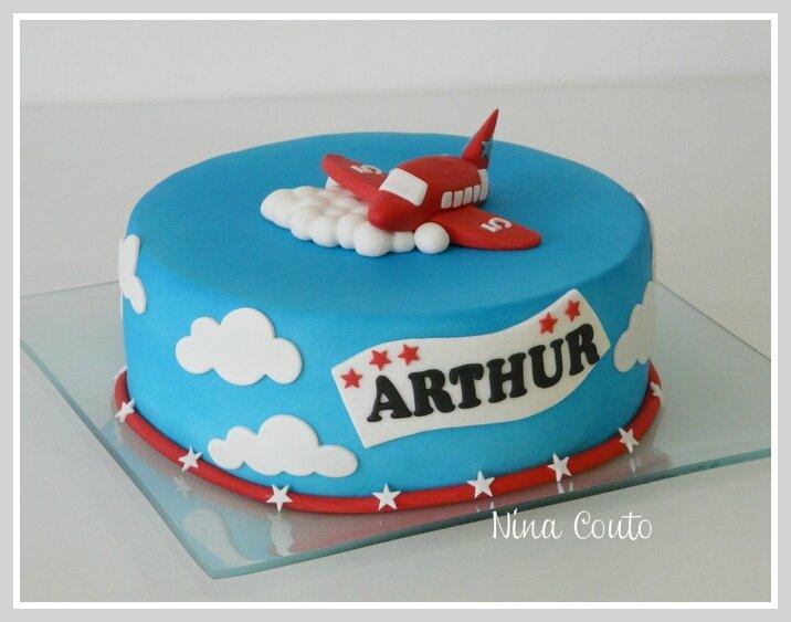 gateau anniversaire enfant avion nimes 1