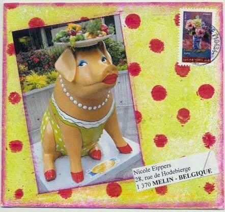 piggy vert rose (2)