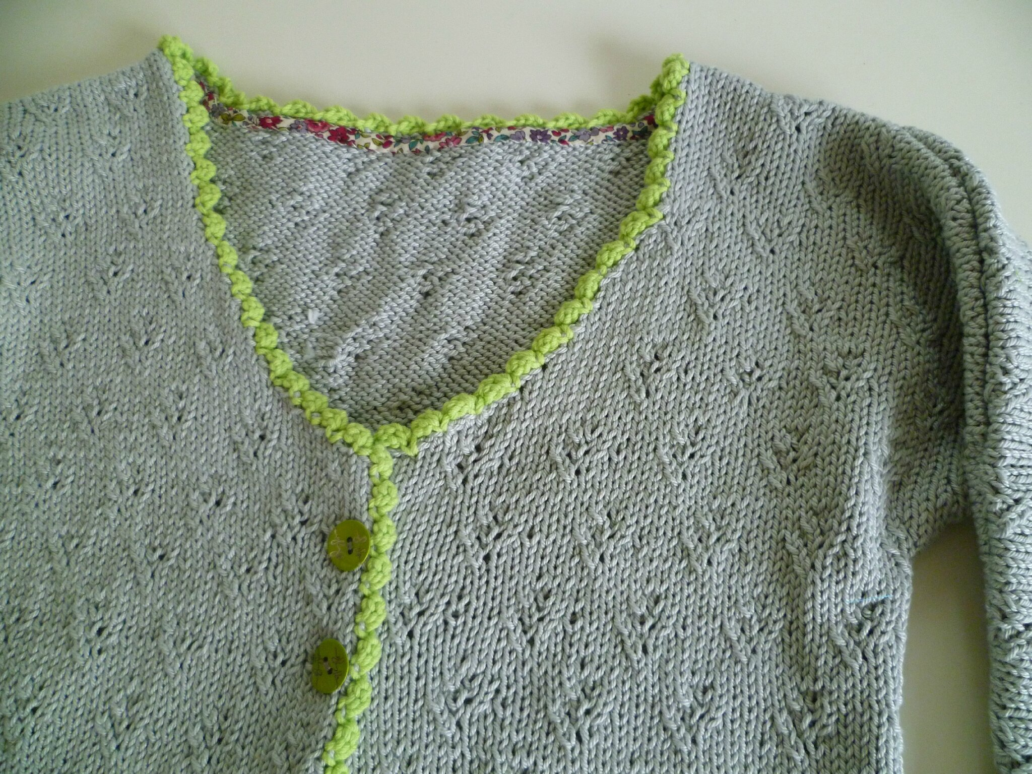 Tiercé gagnant: tricot ~ crochet ~ couture. - Joli fouillis