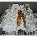 Des jupes pour décorer les vieilles lampes...le tutos
