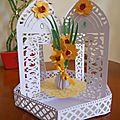 Carousel vase de jonquille