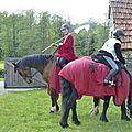 balade à cheval médiévale - Abbaye de Hambye (282)