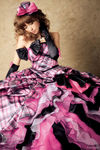 pink_black_wedding_dress