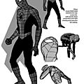 Ultimate spider-man, les concept-arts de john paul leon
