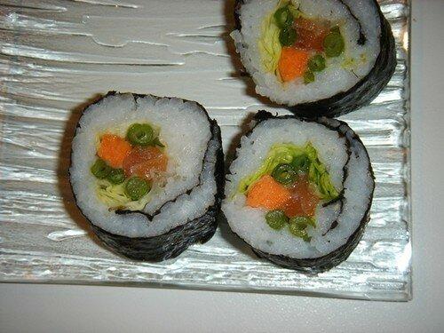 Sushis d'Emilie Bravo