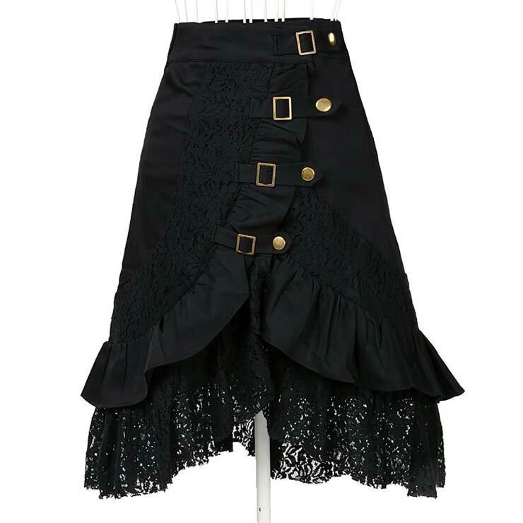 jupe noire gothique burlesque soiree (3)