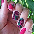 20150825 manucure fleurs roses (9)