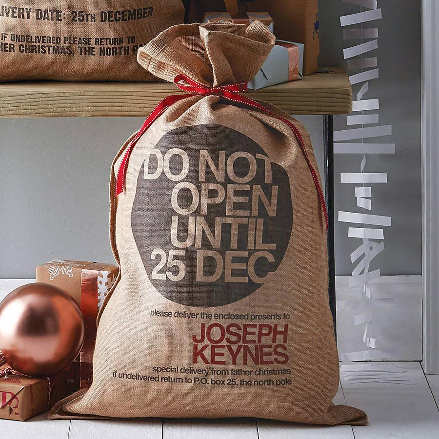 Fabuleux Les sacs de livraison du Père Noël : le cadeau original, unique  GH24