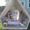 Une maison de poupée shabby !