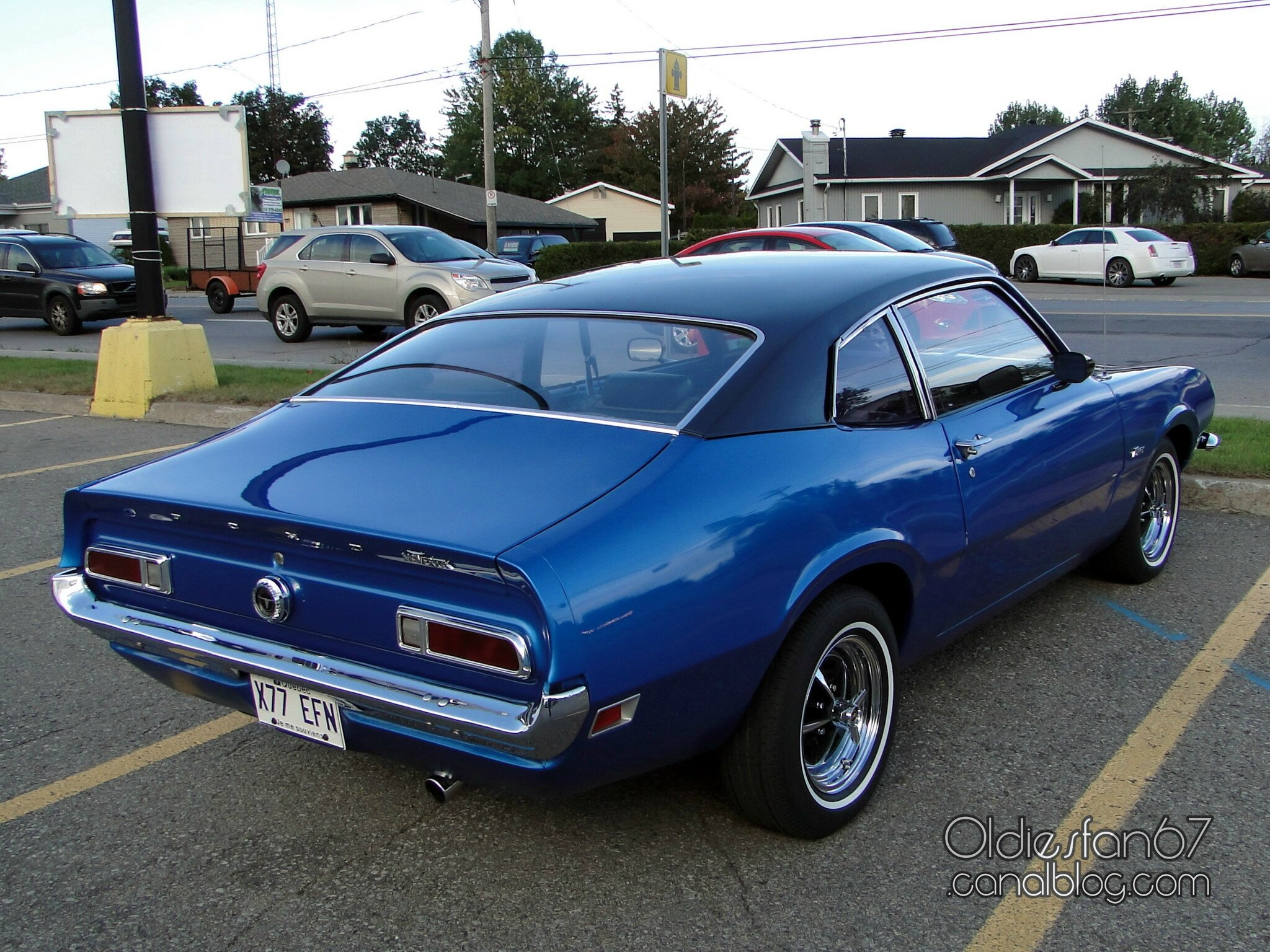 Ford Maverick 2door Fastback Sedan 1970 1972 Oldiesfan67