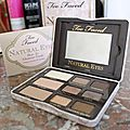 Un joli make up naturel avec too faced .