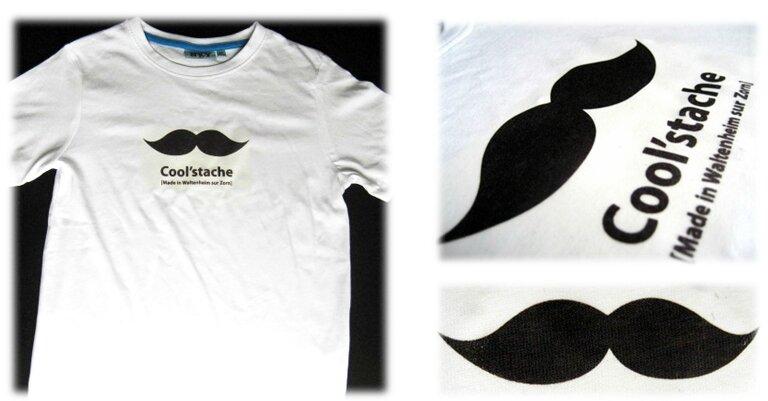 Tshirt transfert moustache