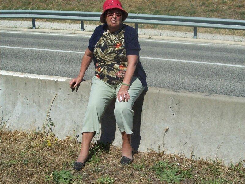 michéle ,juin2014-promenade roquemaure