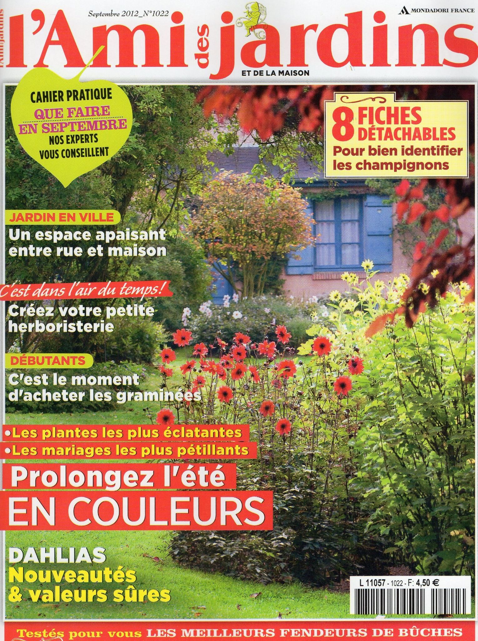 Article de presse l 39 ami des jardins septembre 2012 for Article de jardin