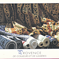 Provence de couleurs et de lumières-Les tissus