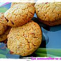Cookies aux cranberry