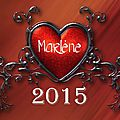 Les coups de ♥ 2015 #Marlène