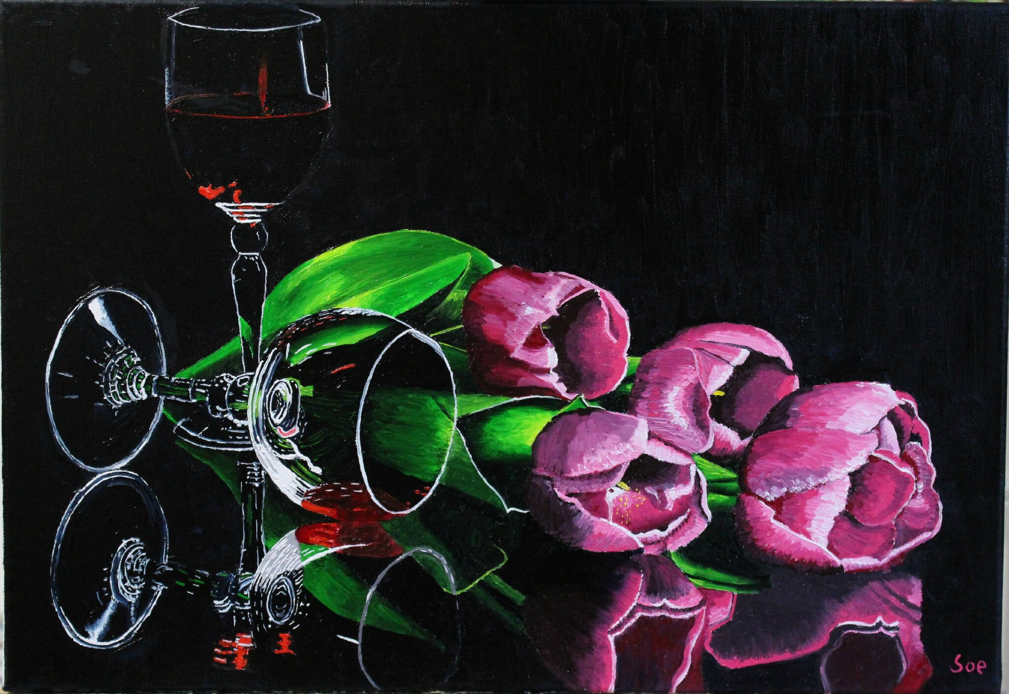 Tulipes & Wine
