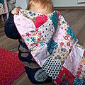 Sa couverture de bébé