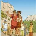 Mise en couleur du tome 01 BD Diabète