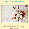 Défi pcc #273 paper craft crew challenges