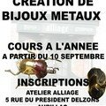 cours inscriptions