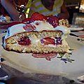 fraisier à la crème de mascarpone
