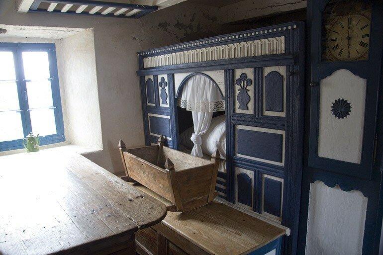 l 39 interieur d 39 une maison bretonne c 39 est la r cr de choco bn