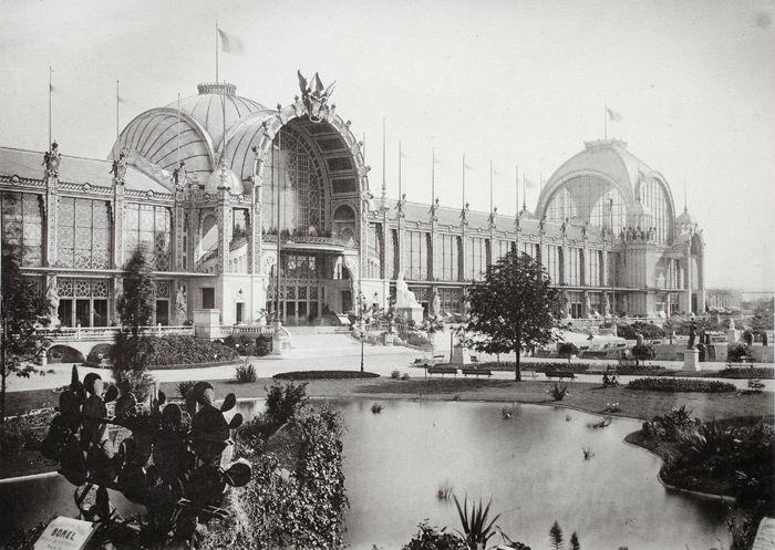 Exposition universelle 1878 Palais du Champ de Mars