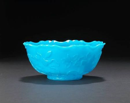 A_turquoise_glass_bowl