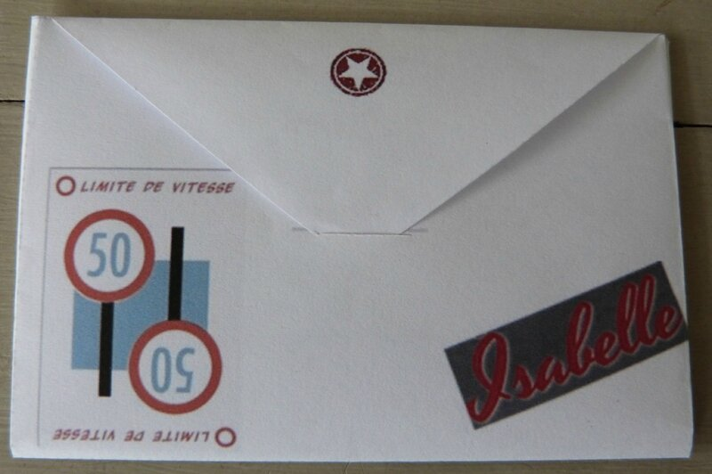 Enveloppe coeur Isabelle 50ans (1)