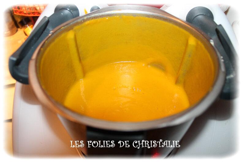 Velouté carottes coco 4