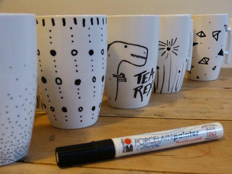 tasse peinture porcelaine 3
