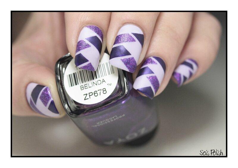 Mint Polish Zoya China Glaze Mat Braided Nails Striping Tape Sois Polish