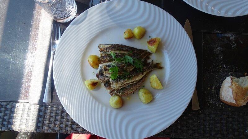 40 - Sardines grillées